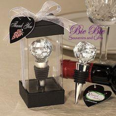 Souvenir Pernikahan Unik : Crystal Ball Bottle Stopper