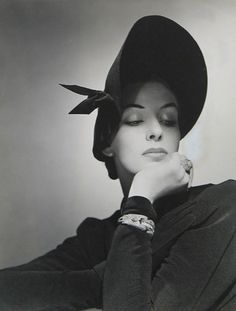 Fashion photo by George Platt Lynes for Bergdorf Goodman, 1940s