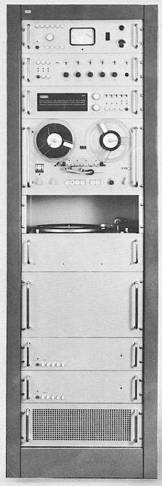 Braun stereo system