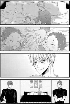 Anime Dad, Cute Anime Guys, Awesome Anime, Otaku Anime, Mpreg Anime, Fanarts Anime, Kuroko No Basket, Anime Lemon, Akashi Kuroko