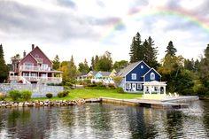 Perfect wedding venue...Rosewood on the Cove in Nova Scotia (via Intimate Weddings)