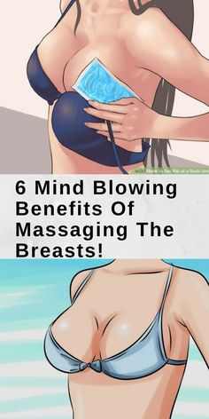 6 MIND BLOWING BENEFITS OF MASSAGING THE BREASTS! | Healthy Mom