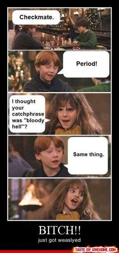 haha, oh ron weasley