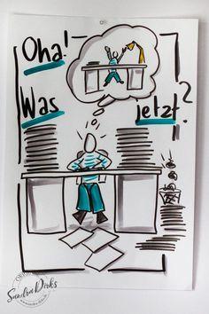 Mini - Flipchartkurs Schreibtisch https://sandra-dirks.de/mini-flipchartkurs-schreibtisch/