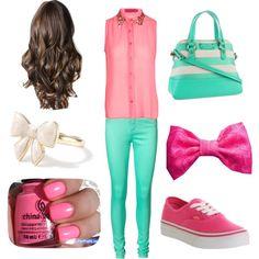 """Spring outfit"" by jenna-bo-benna on Polyvore"