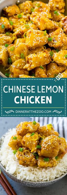 Chinese Lemon Chicke