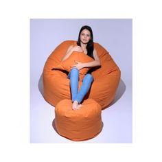 Set fotoliu King Size Orange puf King Size, Bean Bag Chair, Orange, Home Decor, Decoration Home, Room Decor, Beanbag Chair, Home Interior Design, Bean Bag