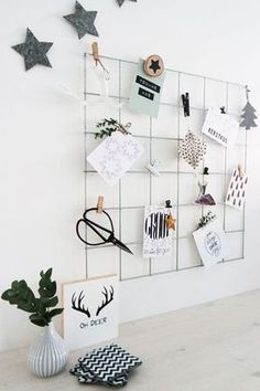 Do DIY wall grid yourself - Why a screed grid is still good- DIY Wandgitter selb.Do DIY wall grid yourself - Why a screed grid is still good- DIY Wandgitter selber machen – Wozu ein My New Room, My Room, Dorm Room, Metal Grid, Metal Board, Murphy Bed Plans, Murphy Beds, Wire Mesh, Home And Deco