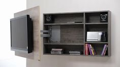 Diseño de muebles para Tv giratorio de melamina | Web del Bricolaje Diseño Diy