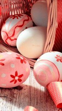 Malowane jajka wielkanocne