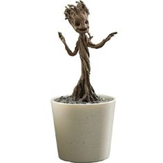 He doesn't actually dance but the Little Groot Quarter-Scale Figure looks incredibly realistic, and he can be posed in a variety of ways. Groot was cool in Guardians of the Galaxy but baby Groot stole the whole show at the end of the film, which isn't bad for a character that only a