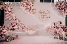 Studio marry the love of Shenzhen Duoyi-Shenzhen Qilin Villa-Real Wedding Pink Wedding INS Wind Case-Shenzhen Duoyi Love Wedding Studio Works-Xijie Wedding Backdrop Design, Wedding Reception Backdrop, Outdoor Wedding Decorations, Wedding Mandap, Wedding Receptions, Bühnen Design, Wedding Photo Walls, Luxury Wedding Decor, Real Weddings