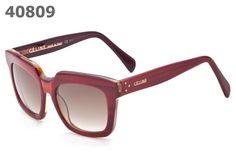 91956ed6340 Celine Zz top Sunglasses 41756 red frame