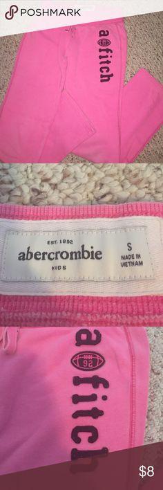Abercrombie Girls sz S Sweats Abercrombie Girls sz S Sweats. Great condition. Abercrombie & Fitch Bottoms Sweatpants & Joggers