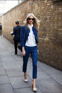 blue is another great neutral for the office