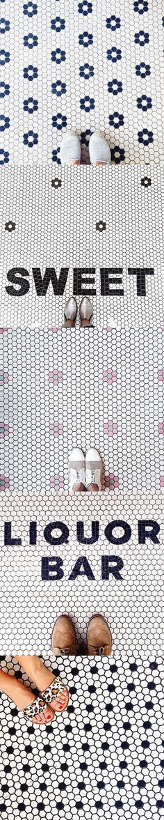 I like the traditional farmhouse style of the flower tile pattern. Would be nice mixed in shower cubby and bath floors. Hexagon Tiles, Mosaic Tiles, Mosaic Floors, Quarry Tiles, Tiled Floors, Tiling, Floor Patterns, Tile Patterns, Floor Design