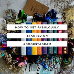 """One of my most favourite parts of book blogging is definitely #bookstagram. """"What is #bookstagram?"""" you might ask if you've been living under a rock and haven't seen its wildfire takeover across the b"""