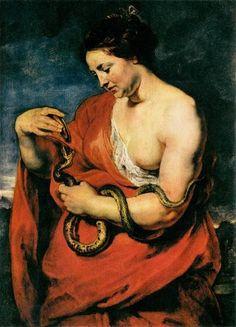 Peter Paul Rubens, Hygeia, Goddess Of Health, c.1615, Detroit Institute of Arts, Detroit, MI, art models xxl