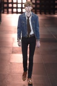 LOOK | 2015 SS PARIS MEN'S COLLECTION | SAINT LAURENT | COLLECTION | WWD JAPAN.COM