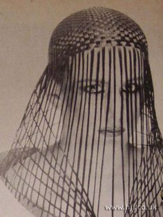 1979 veil plaits hairstyle A prepared piece basket weaved piece was placed on top of the head, leaving the lengths free for a veil effect Hairstyle by: Robert Lobetta Salon: Michaeljohn Location: London