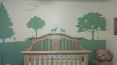 Our nature themed nursery