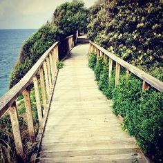 Saturday cliff run :) #ocean #view #run #sydney #watsonsbay #saturday #uitwaaien #southhead