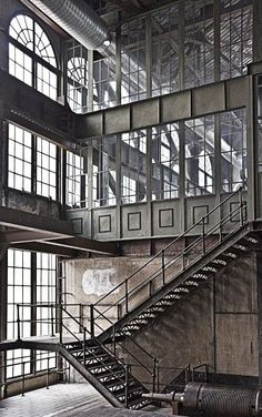 stairs  -  industrial space