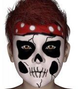 maquillage squelette fillette