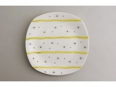Midwinter Pottery 'Hollywood' pattern plate, designed by Jessie Tait. c1950