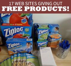 17 Places to Test Free Products - I've gotten free groceries and more from..