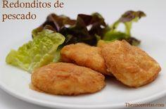 Redonditos de pescado para niños # Esta es una receta especial para todos los padres y madres que tienen niños en casa. ¡Os va a encantar esta receta! Es una variedad de nuggets de pollo, pero hechos con pescado para ir ... »