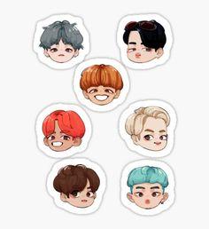 BTS - Fire Era Stickers Sticker