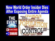 New World Order Insider Dies After Exposing Entire Agenda