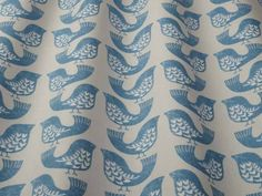 iLiv Scandi Birds capri fabric<br />We recommend a sample of this fabric if colour is important to you as colours on different screens may vary.
