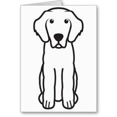 Leonberger Dog Cartoon Greeting Card