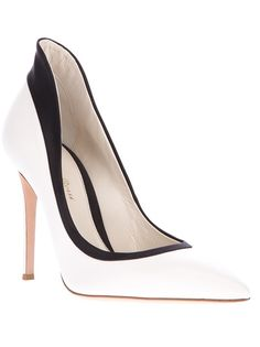 GIANVITO ROSSI Contrasting High Sided Pump