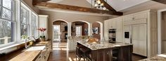 Like the wooden beam for the attic. Could incorporate a similar design