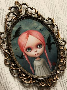 Miranda - custom Blythe painting by Mab Graves | Flickr - Photo Sharing!