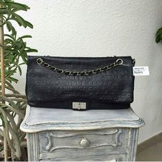 #Chanel Black Monogram Leather Rue Cambon Reissue 31 SHW Condition: Excellent Price: AED 7,900  We deliver worldwide 🌍  #bagatelleboutique #bagatellechanel #chanel #necklace  #musthave #fashion #cocochanel #ootd #fashionista #chanelbag #ootn #mydubai #dubai #accessories#neckcandy  #style #onlineshopping #saudiarabia #trend #شنط#دبي Folow @fashionbookface   Folow @salevenue   Folow @iphonealiexpress   ________________________________  @channingtatum @voguemagazine @shawnmendes…