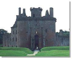 Maxwell Castle in Scotland!