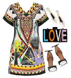 """Love has no Shape <3"" by razone ❤ liked on Polyvore featuring Just Cavalli, Alexis Bittar, Lipsy, Givenchy, Spring, springdate and springdress"