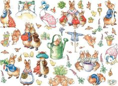 Beatrix Potter - use to make miniature items
