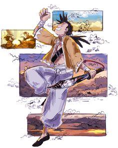 Ling Yao, by - Fullmetal Alchemist Mustang, Fullmetal Alchemist Alphonse, Alphonse Elric, Fullmetal Alchemist Brotherhood, Lan Fan, Manga Anime, Anime Art, Fulmetal Alchemist, Samurai Champloo