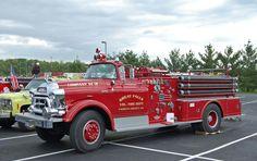◆GMC Open Cab Fire Engine◆