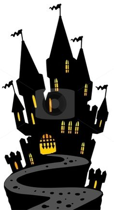 cutcaster-photo-100795479-Castle-on-hill-silhouette.jpg (245×450)