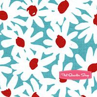 Michael Miller Fabric - Sprinkled Stars, Color Me & More Collections Online Red Turquoise, Aqua, Nursery Fabric, Michael Miller Fabric, Fat Quarter Shop, Sprinkles, Daisy, Fabrics, Kids Rugs