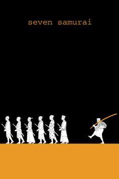 Akira Kurosawa  Seven Samurai poster