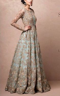 Material: Polyester Silhouette: A-Line Dress Length: Floor-Length Sleeve Length: Long Sleeve Sleeve Type: Regular Neckline:. Wedding Evening Gown, Indian Wedding Gowns, Desi Wedding Dresses, Asian Wedding Dress, Pakistani Wedding Outfits, Pakistani Bridal Dresses, Indian Gowns, Evening Gowns, Indian Evening Gown