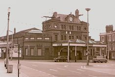 Blackpool Central Station in History of Blackpool and Growth of the Town - Live Blackpool Blackpool Promenade, Blackpool Uk, Blackpool Pleasure Beach, Adelaide Street, York Hotels, Tower Building, Make Way, Central Station, Seaside Towns