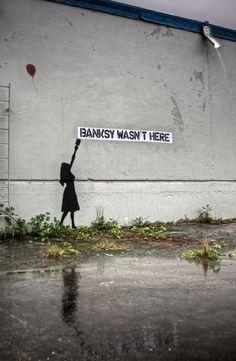 Banksy wasn't here...